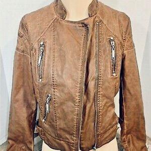 Jou Jous Faux Leather Jacket